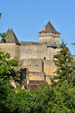 France, picturesque castle of Castelnaud in Dordogne Stock Photo