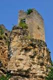 France, picturesque castle of Cuzorn in Lot et Garonne Stock Photography