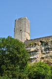 France, picturesque castle of Gavaudun in Lot et Garonne Royalty Free Stock Image