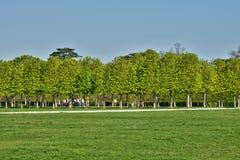 France, the picturesque castle park of Saint Germain en Laye Stock Image