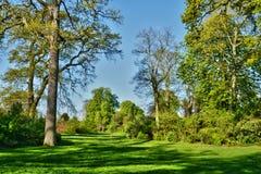 France, the picturesque castle park of Saint Germain en Laye Stock Photo
