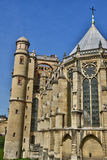 France, the picturesque castle of Saint Germain en Laye; Royalty Free Stock Images