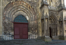 France, the picturesque cathedral of Lisieux Stock Photos