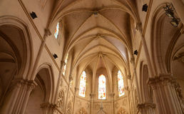 France, picturesque chuch of Houlgate in Normandy Royalty Free Stock Photography