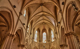 France, picturesque chuch of Houlgate in Normandy Royalty Free Stock Photo