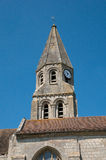France, picturesque church of Bouconvillers Royalty Free Stock Image