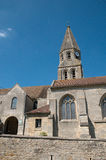 France, picturesque church of Bouconvillers Stock Photography