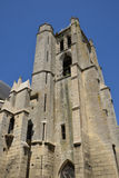 France, picturesque church of Chambly in Picardie Royalty Free Stock Photos