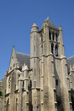France, picturesque church of Chambly in Picardie Royalty Free Stock Photo