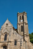 France, the picturesque church of Chars. Ile de France, the picturesque church of Chars royalty free stock photos