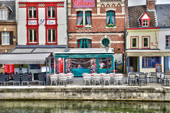 France, the picturesque city of Amiens in Picardie Royalty Free Stock Photos