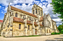 France, the picturesque city of Auvers sur Oise Royalty Free Stock Images