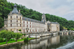 France, picturesque city of Brantome Royalty Free Stock Photography