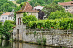 France, picturesque city of Brantome Royalty Free Stock Photos