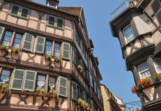 France, picturesque city of Colmar in Haut Rhin Stock Image
