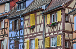 France, picturesque city of Colmar in Haut Rhin Royalty Free Stock Images