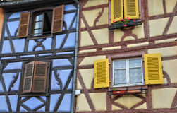 France, picturesque city of Colmar in Haut Rhin Stock Photos
