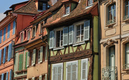 France, picturesque city of Colmar in Haut Rhin Royalty Free Stock Image