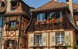 France, picturesque city of Colmar in Haut Rhin Stock Photography