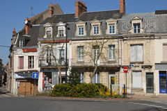 France, the picturesque city of Cosne Cours sur Loire Royalty Free Stock Images