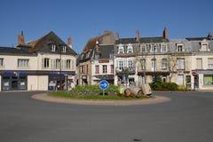 France, the picturesque city of Cosne Cours sur Loire Stock Images
