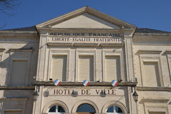 France, the picturesque city of Cosne Cours sur Loire Royalty Free Stock Photography