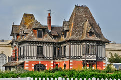 France, picturesque city of Deauville in Normandie Stock Images