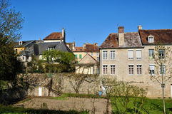 France,  picturesque city of Falaise in Normandie Stock Image