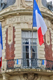 France, picturesque city hall of  Trouville in Normandie Stock Photos