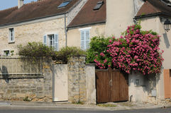 France, picturesque city of Jouy le Moutier in Ile de France Royalty Free Stock Photography