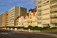 France, picturesque city of Le Touquet in Nord Pas de Calais Stock Photography