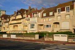France, picturesque city of Le Touquet in Nord Pas de Calais Stock Image