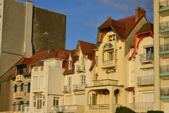 France, picturesque city of Le Touquet in Nord Pas de Calais Royalty Free Stock Image