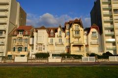 France, picturesque city of Le Touquet in Nord Pas de Calais Royalty Free Stock Photography