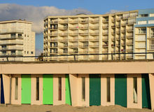France, picturesque city of Le Touquet in Nord Pas de Calais Stock Images
