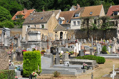 France, the picturesque city of Monfort l Amaury Stock Image