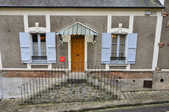 France, the picturesque city of Montfort L Amaury Royalty Free Stock Photos