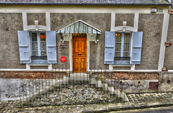 France, the picturesque city of Montfort L Amaury Royalty Free Stock Photo