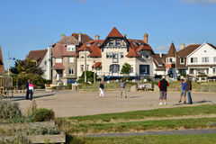 France, the picturesque city of Neufchatel Hardelot Royalty Free Stock Photo