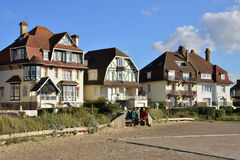 France, the picturesque city of Neufchatel Hardelot Royalty Free Stock Images