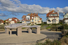 France, the picturesque city of Neufchatel Hardelot Royalty Free Stock Photos