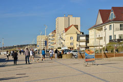 France, the picturesque city of Neufchatel Hardelot Stock Photography