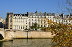 France, the picturesque city of Paris Stock Photos