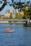 France, the picturesque city of Paris Stock Image