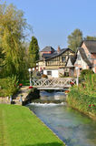 France, picturesque city of Ry Seine Maritime Royalty Free Stock Images