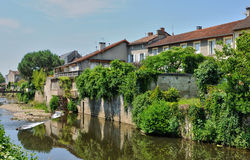 France, picturesque city of Saint Cere in Lot Stock Image