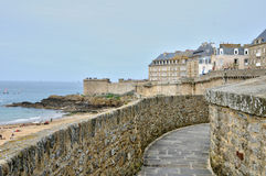 France, picturesque city of Saint Malo in Bretagne Royalty Free Stock Photography