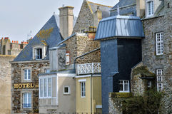 France, picturesque city of Saint Malo in Bretagne Royalty Free Stock Photos