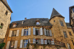 France, picturesque city of Sarlat la Caneda in Dordogne Royalty Free Stock Photo
