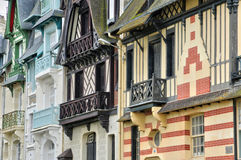 France, picturesque city of Trouville in Normandie Royalty Free Stock Image
